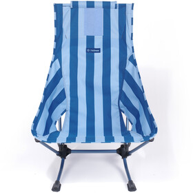 Helinox Beach Chaise, blue stripe/navy